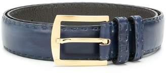Kiton stitch detail belt