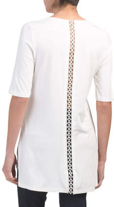 Elbow Sleeve Long Tunic