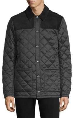 Barbour Tartan Gillock Quilt Jacket