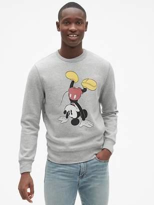 Gap   Disney Mickey Mouse Graphic Pullover Sweatshirt