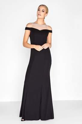 Outlet Little Mistress Black Maxi Dress