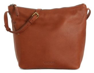 Dayton American Leather Co. Leather Crossbody Bag