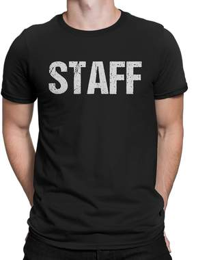 Factory NYC Staff T-Shirt Double Sided White Print Event Concert Party Festival Tee