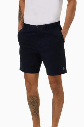 Original Penguin Mens Blue 8 Basic Logo Short - Blue