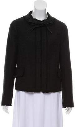 Proenza Schouler Raw-Edge Trimmed Tweed Jacket w/ Tags
