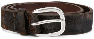 Orciani distressed finish belt