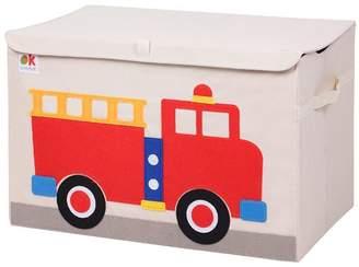 Olive Kids Wildkin Fire Truck Toy Box