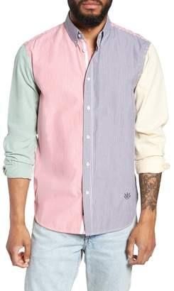 Rag & Bone Tomlin Fit 2 Slim Fit Stripe Sport Shirt