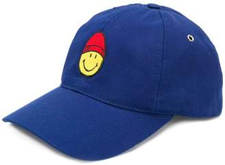 Ami Alexandre Mattiussi Cap With Smiley Patch