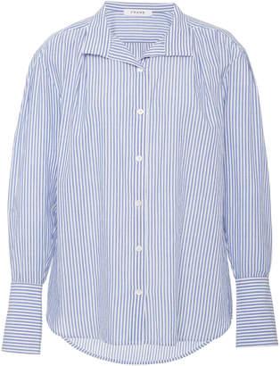 56a61c7f303 Frame Striped Cotton-Poplin Shirt