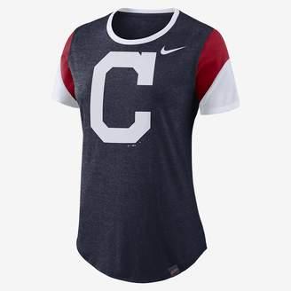 Nike Tri-Blend (MLB Indians) Women's T-Shirt