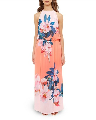 Ted Baker Sunara Orchid Wonderland Maxi Dress Swim Cover-Up $209 thestylecure.com