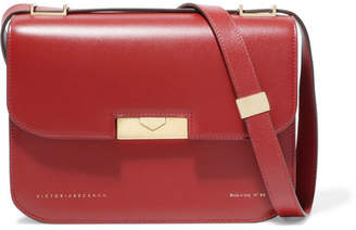 Victoria Beckham Eva Leather Shoulder Bag - Brick