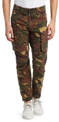 G Star Rovic 3D Straight Tapered Camo Cargo Pants