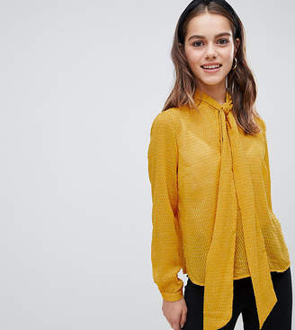 Y.A.S Petite Pussy Bow Blouse