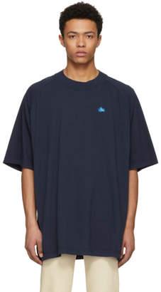 Acne Studios Bla Konst Blue Basset Badge T-Shirt