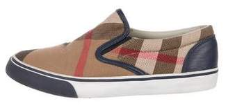 Burberry Boys' Exploded Check Print Sneakers