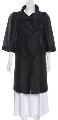 Marni Three-Quarter Sleeve Knee-Length Coat