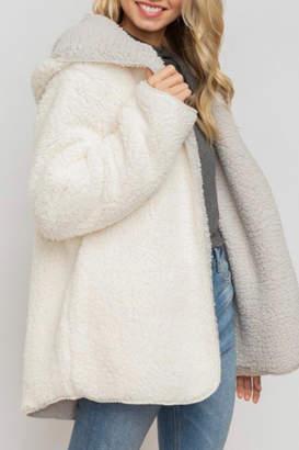 Hem & Thread Cozy Reversible Coat