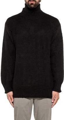 Dondup Black Wool Pullover