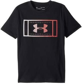 Under Armour Kids Football Field Short Sleeve Tee Boy's T Shirt