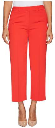 Vince Camuto Specialty Size Petite Texture Base Straight Leg Crop Pants Women's Casual Pants