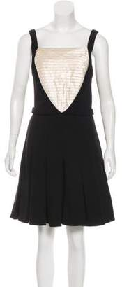 Chanel Wool & Silk Dress