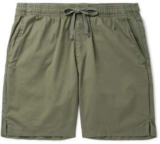SAVE KHAKI UNITED Cotton-Twill Drawstring Shorts