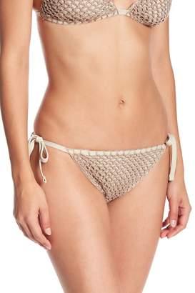 Lucky Brand Los Cabos Tie Side Bikini Bottom