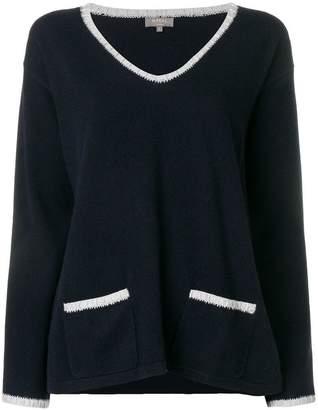 N.Peal crochet detail jumper