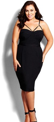 Plus Size Women's City Chic 'Undress Me' Dress $139 thestylecure.com