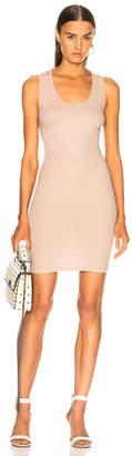 Enza Costa Rib Cross Back Mini Dress