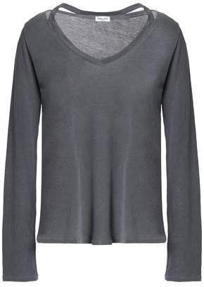 Splendid Cutout Supima Cotton-Jersey Top