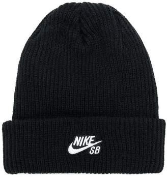 Nike embroidered logo beanie