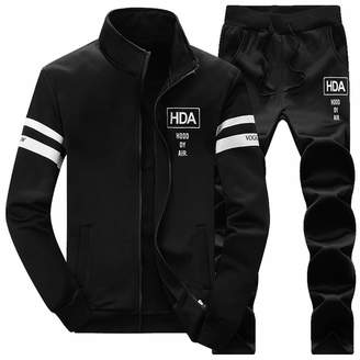 spyman Fashion-hoodies NEW Men Hoodies Male Moletom Warm Thick Velvet Solid Tracksuit Jacket+Pants 2 PCS