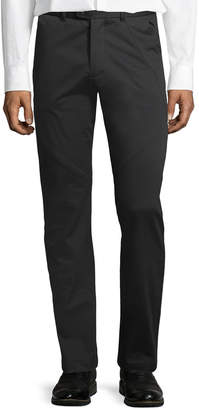 Karl Lagerfeld Paneled Stretch-Cotton Chino Pants