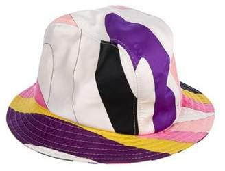 Emilio Pucci Satin Bucket Hat