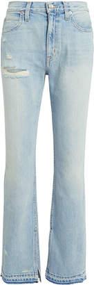 Slvrlake Rider Split Hem Jeans