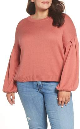 BP Blouson Sleeve Sweater