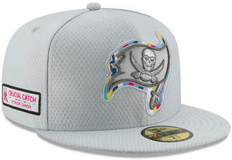 New Era Tampa Bay Buccaneers Crucial Catch 59FIFTY Fitted Cap