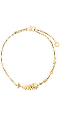 Stephen Webster 18kt yellow gold Jewels Verne Topkat diamond bracelet