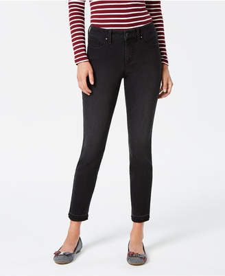 Charter Club Bristol Skinny Frayed-Cuff Jeans, Created for Macy's