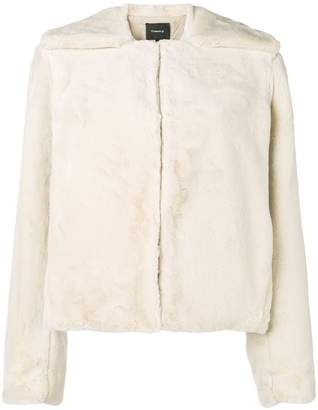 Theory fitted jacket