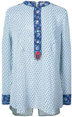 Figue Milagro printed tux shirt
