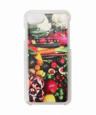CITYSHOP (シティショップ) - CITYSHOP CITY SHOP LOGO IPHONE CASE Vegetable