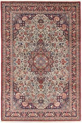 Unique Loom Bidjar Hand-Knotted Wool Persian Rug