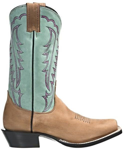 "Nocona Boots 11"" Square Toe Cowboy Boots - Leather (For Women)"