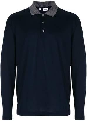 Brioni コントラストカラー ポロシャツ