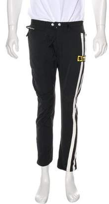 DSQUARED2 Striped Cropped Woven Pants