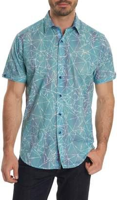 Robert Graham Illusions Print Sport Shirt